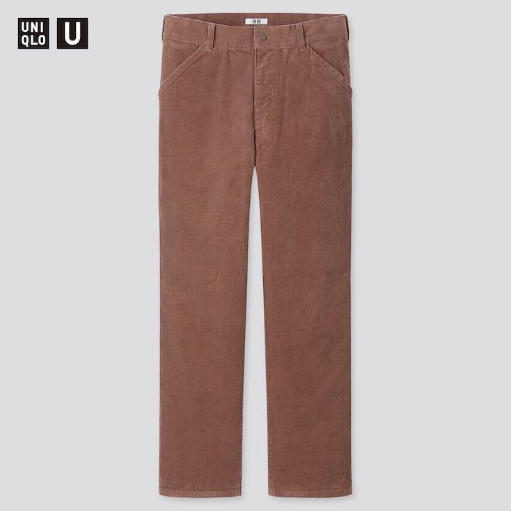 1930s Men's Fashion Guide- What Did Men Wear? MEN U CORDUROY REGULAR-FIT STRAIGHT PANTS $49.90 AT vintagedancer.com