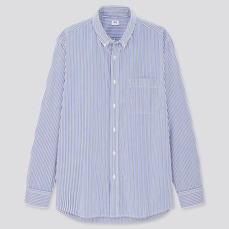 Herren Gestreiftes Hemd aus Extra feiner Baumwolle