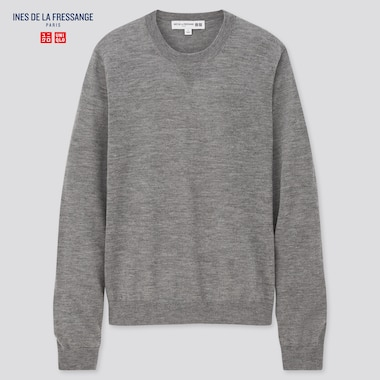 Women Ines 100% Cashmere Crew Neck Jumper