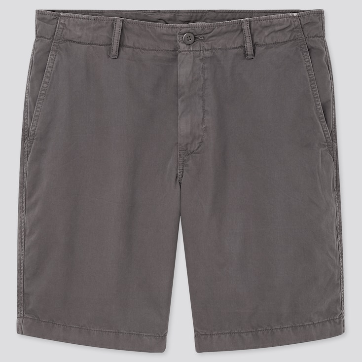Men Chino Shorts (Online Exclusive), Dark Gray, Large