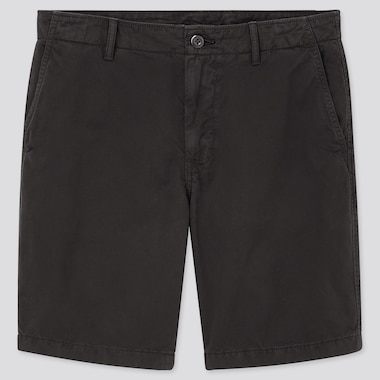 Men Chino Shorts (Online Exclusive), Black, Medium
