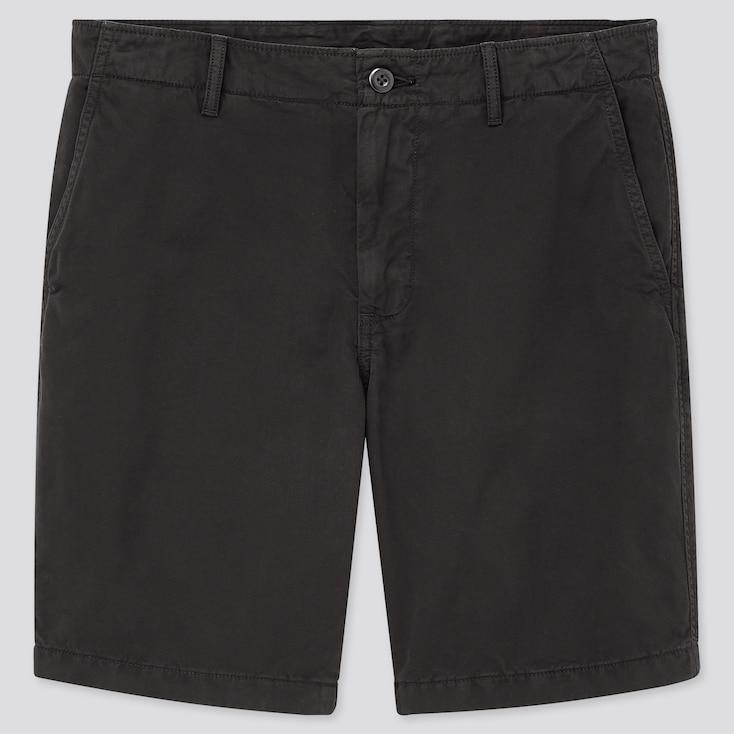 Men Chino Shorts (Online Exclusive), Black, Large