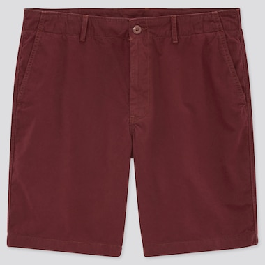 Men Chino Shorts (Online Exclusive), Red, Medium
