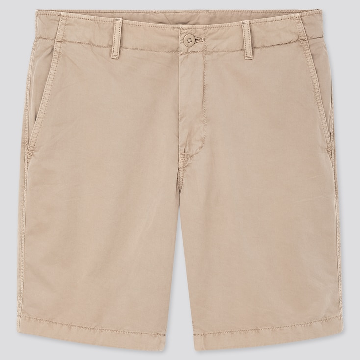 Men Chino Shorts (Online Exclusive), Beige, Large