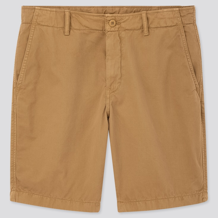 Men Chino Shorts (Online Exclusive), Brown, Large