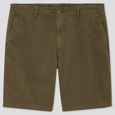 Men Chino Shorts (Online Exclusive), Olive, Medium
