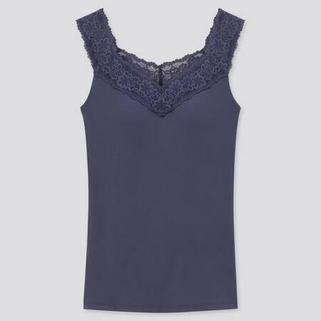 Women HEATTECH Jersey Lace Sleeveless Bratop