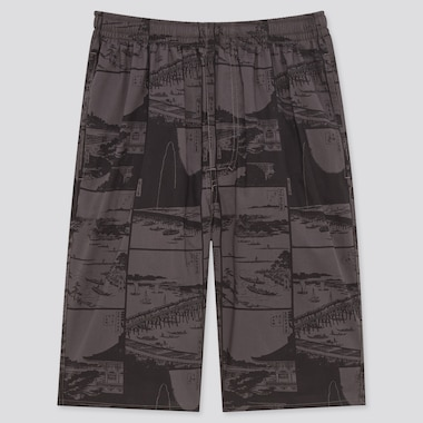 MEN Edo Ukiyo-E Unsodo Easy Shorts