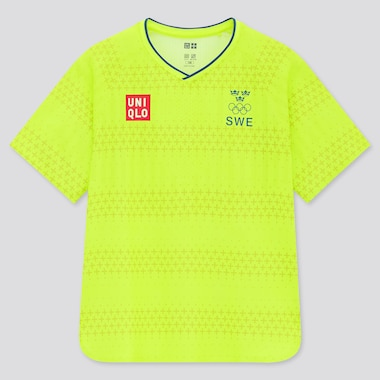 KIDS UNIQLO+ Swedish Olympic Committee DRY-EX Soccer T-Shirt