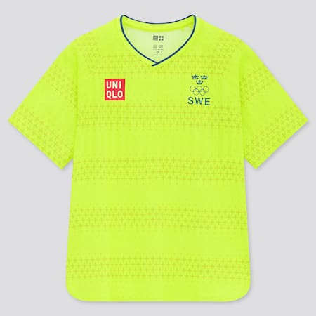 KIDS UNIQLO+ Sweden Olympic DRY-EX Soccer T-Shirt