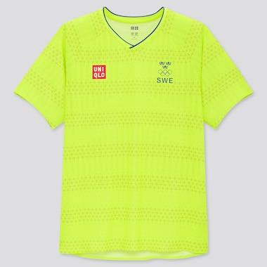 Men UNIQLO+ Swedish Olympic DRY-EX Soccer T-Shirt