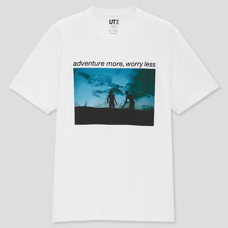Ryan Mcginley Ut (Short-Sleeve Graphic T-Shirt), White, Large