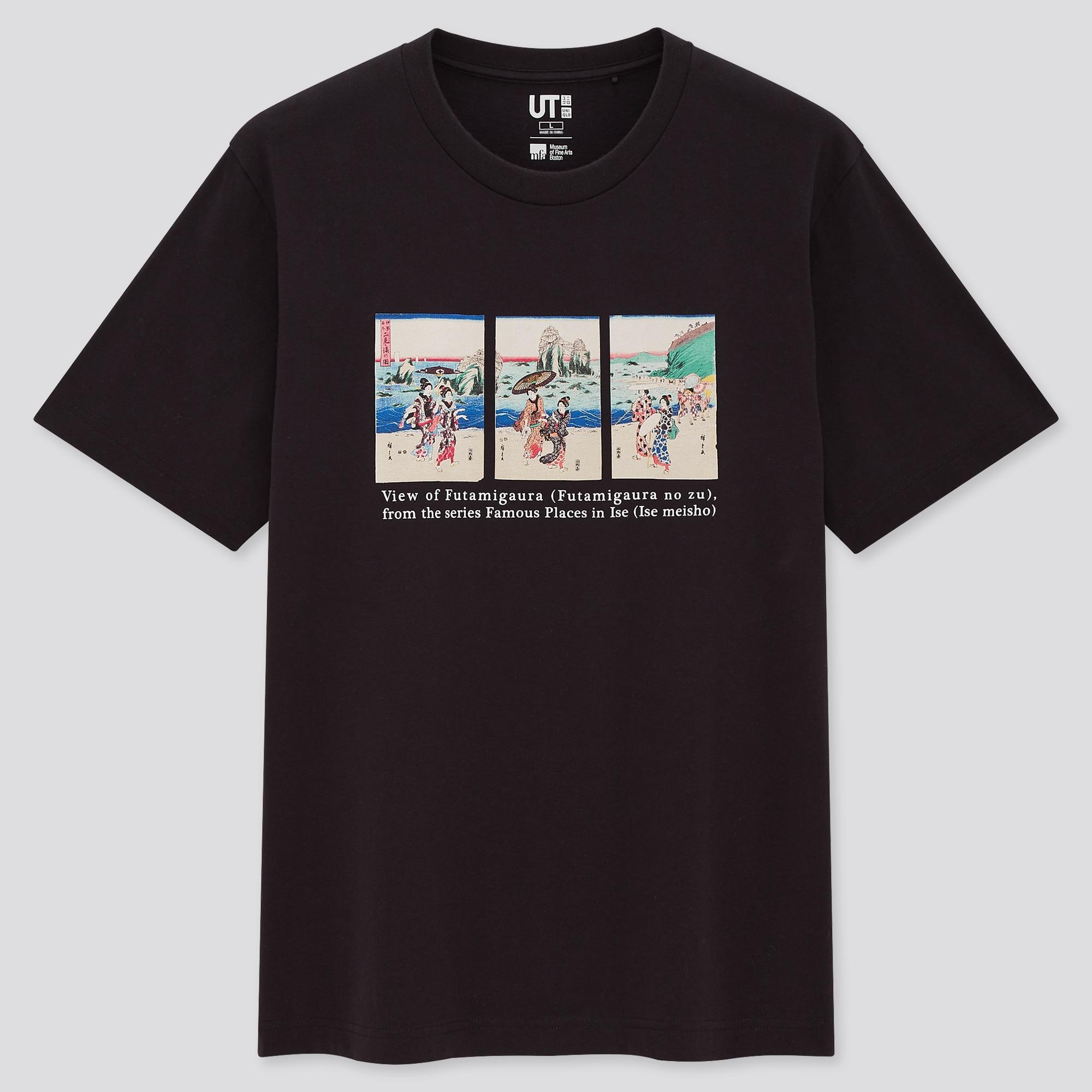 EDO UKIYO-E UT (SHORT-SLEEVE GRAPHIC T-SHIRT)