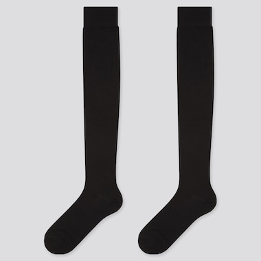 Women HEATTECH Over-The-Knee Thermal Socks (Two Pairs)