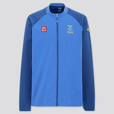 Men UNIQLO+ Sweden Olympic Ultra Stretch Active Jacket
