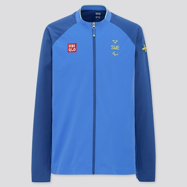 Men UNIQLO+ Sweden Paralympic Ultra Stretch Active Jacket