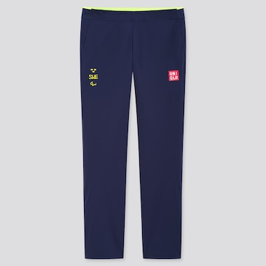 Men UNIQLO+ Sweden Paralympic Ultra Stretch Active Trousers
