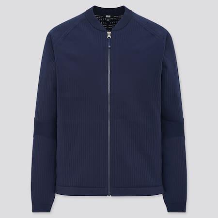 Men UNIQLO+ Knitted Jacket