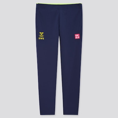 Women UNIQLO+ Sweden Olympic Ultra Stretch Active Trousers