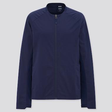 Women Uniqlo+ Ultra Stretch Active Jacket, Navy, Medium