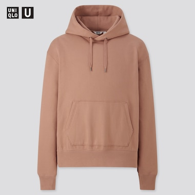 Men Uniqlo U Sweat Pullover Hoodie