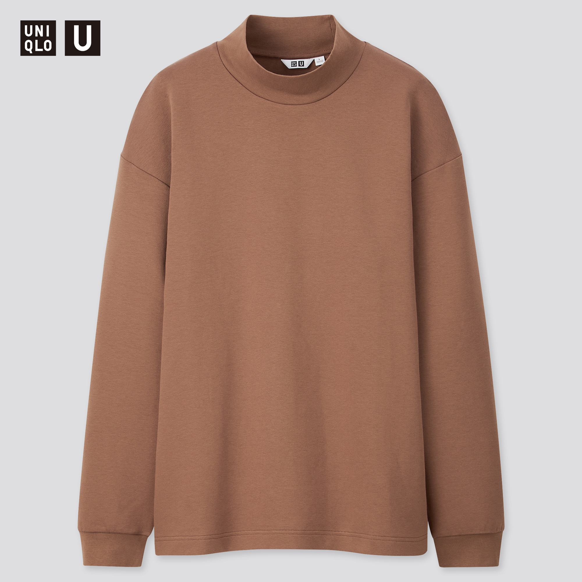 MEN U MIDDLE GAUGE MOCK NECK LONG SLEEVE SWEATER | UNIQLO US