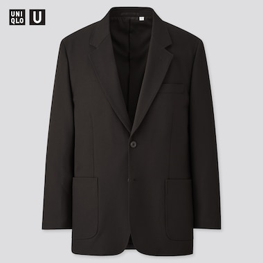 Men Uniqlo U Tailored Blazer Suit Jacket