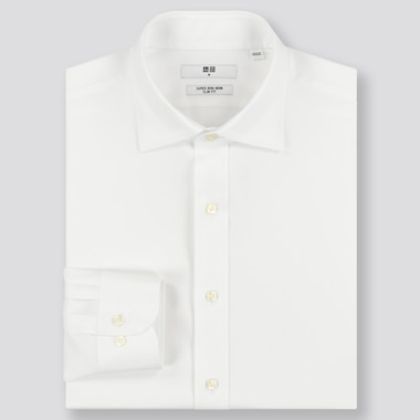 Men Super Non-Iron Slim Fit Shirt (Semi-Cutaway Collar)