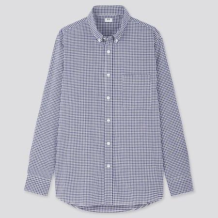 Herren Kariertes Hemd aus Extra Feiner Baumwolle