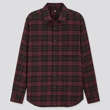 Camisa Franela Cuadros Hombre