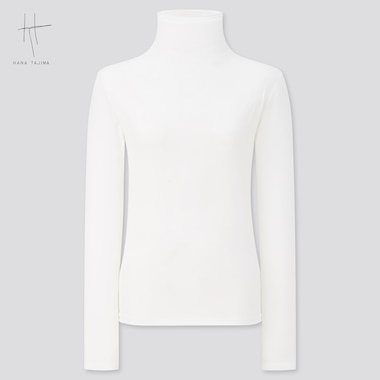 Women Hana Tajima AIRism High Neck Long Sleeved T-Shirt