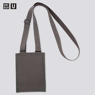 U Mini Bag, Dark Gray, Medium