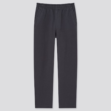 Men Jersey Relaxed Fit Ankle Length Trousers