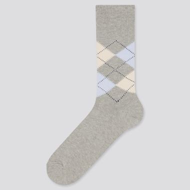 Men Argyle Socks