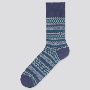 Men HEATTECH Fair Isle Thermal Socks