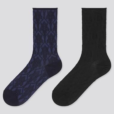 Women HEATTECH Float Thermal Socks (Two Pairs)