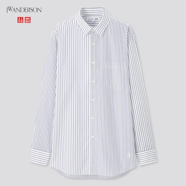 Men JW ANDERSON Easy Care Striped Shirt
