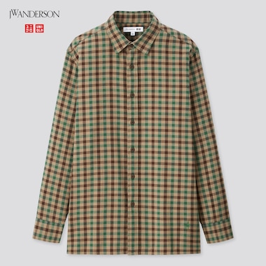 Men JW ANDERSON Flannel Checked Shirt