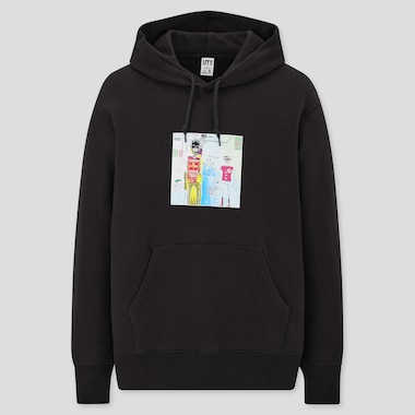 Jean-Michel Basquiat Warner Bros. Sweat Pullover Hoodie, Black, Medium