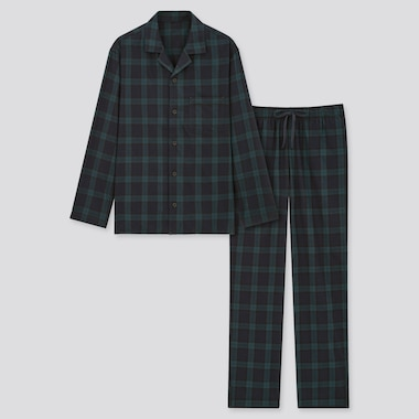 Men Flannel Long Sleeved Pyjamas