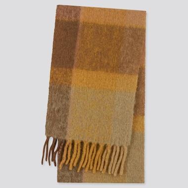 Karierter Schal aus Wollmix