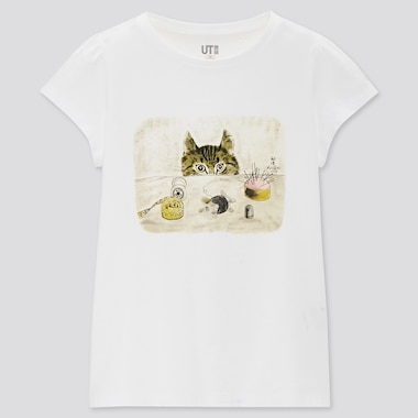 Girls Cats Are Purrfect UT Graphic T-Shirt