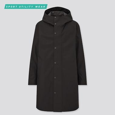 Men Blocktech Hooded Coat