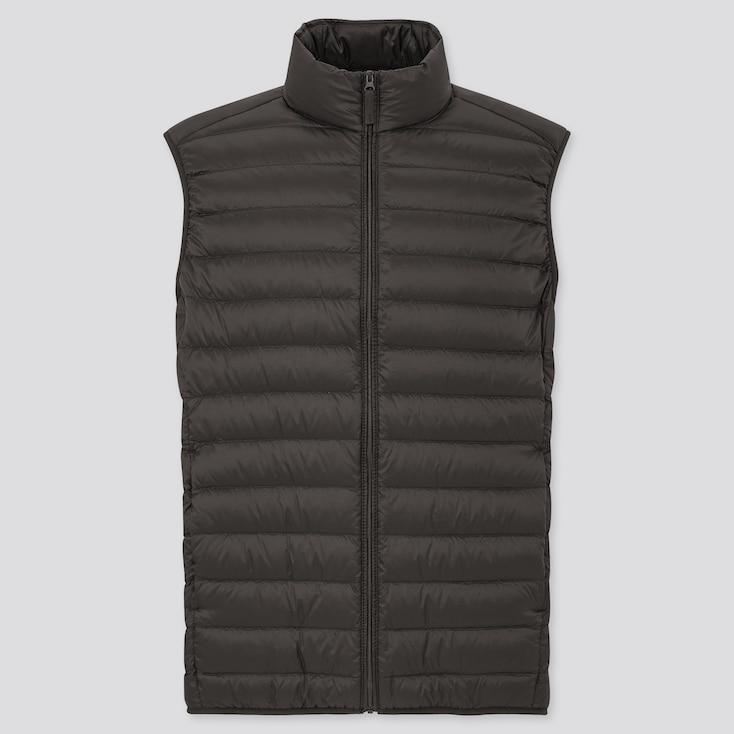 Men Ultra Light Down Vest, Black, Large