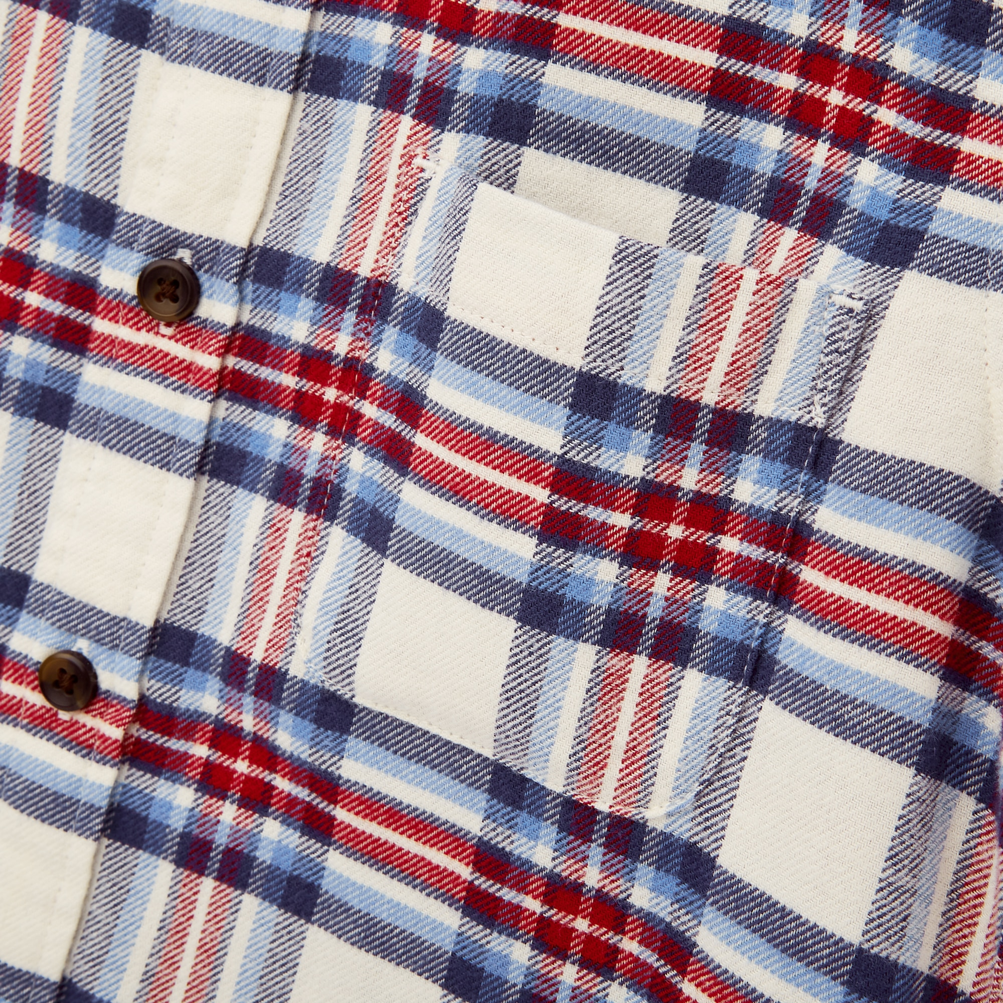 Uniqlo KIDS FLANNEL CHECKED LONG-SLEEVE SHIRT