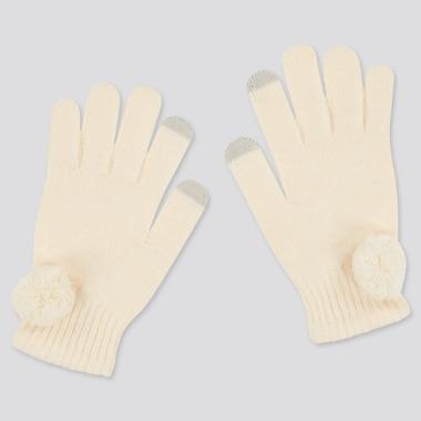 Girls HEATTECH Knitted Gloves