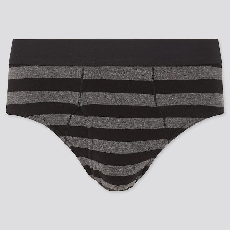 Men Supima© Cotton Briefs, Black, Large