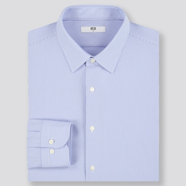 Camicia Easy Care Comfort A Righe Uomo
