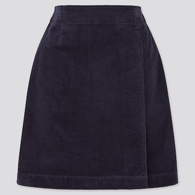 Women Corduroy Mini Skirt