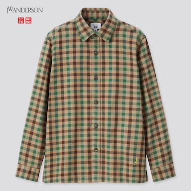 Kids JW ANDERSON Flannel Checked Shirt